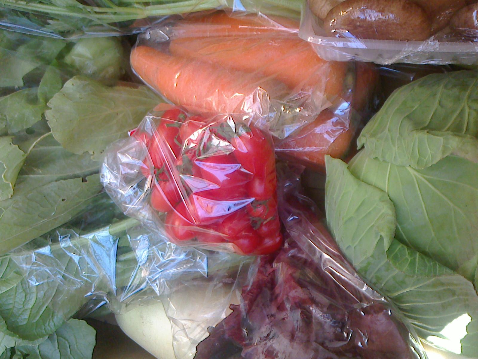 本日の野菜セット12月7日
