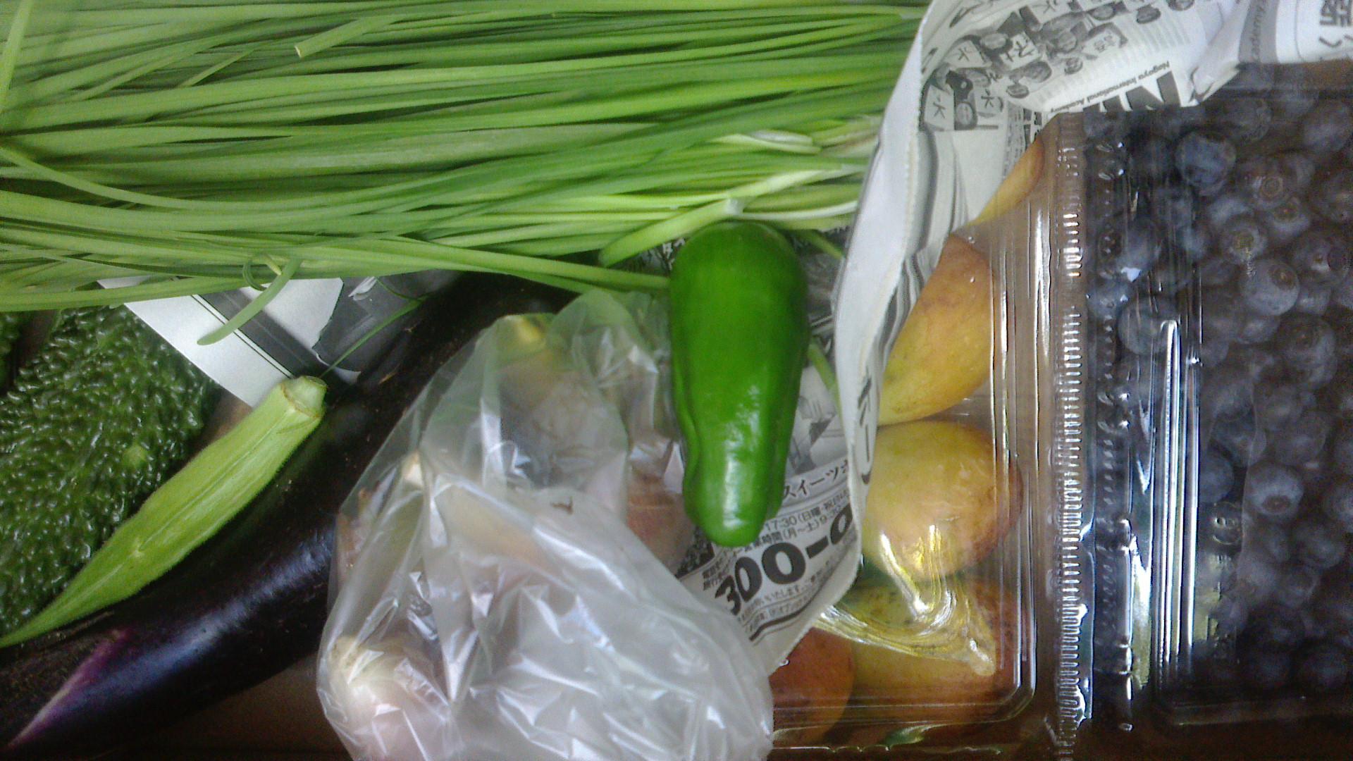 今日の野菜セット8月27日