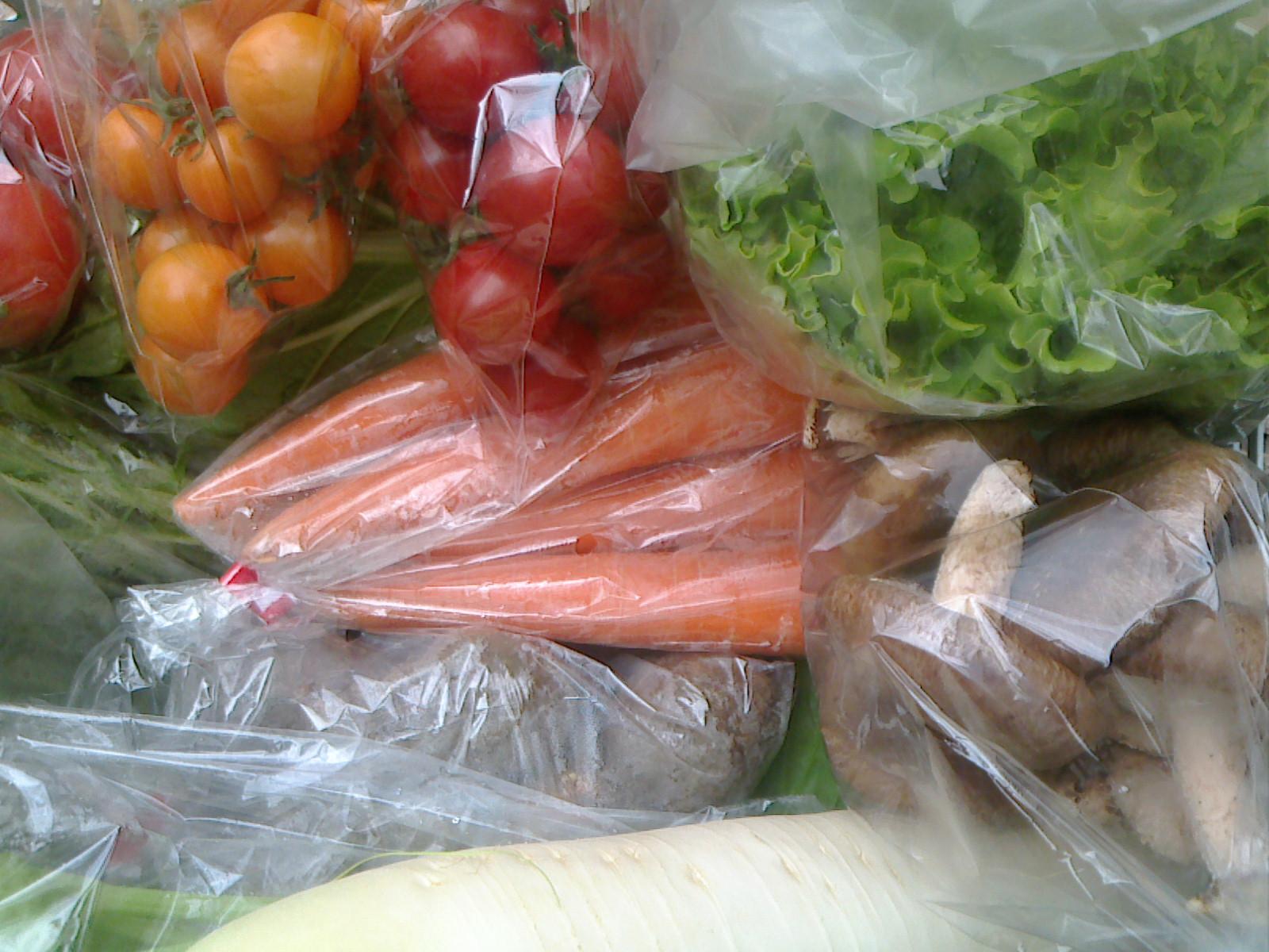 本日の野菜セット12月6日